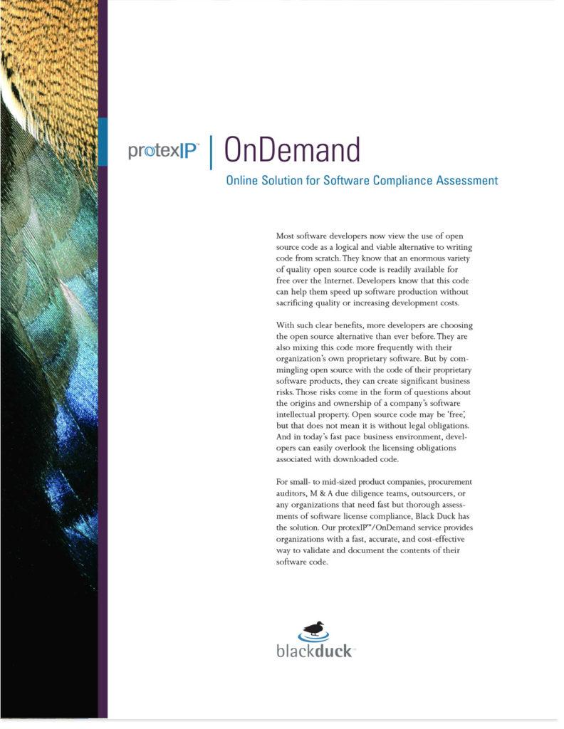 Black Duck Software Collateral - Dawn Barnhart